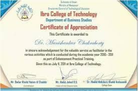 Sample Certificate Of Appreciation Best Example Of Certificate Of Appreciation Free Free Invoice Template