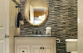 powder room mirrors and sconces bathroom wall medium size sconce above mirror powder room traditional with powder room