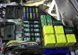 engine bay fuse box landyzone land rover forum cable connections under the engine bay fuse box