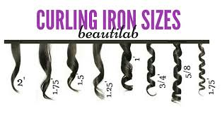 barrel size curling iron sizes types what should i use