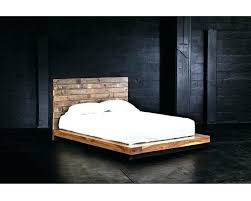 reclaimed wood king platform bed. Ana White Reclaimed Wood Headboard King Platform Bed Frame Ideas Picture .