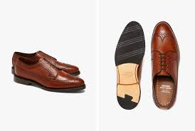 the world of dress shoes has a strict hierarchy of traditional styles brands operate within the styles of oxfords derbies brogues and bluchers to create