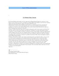 Dental Letter Of Recommendation Sample Magdalene Project Org