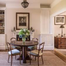 traditional home dining rooms. Traditional Dining Room With Round Table Home Rooms