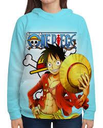Толстовка с полной запечаткой <b>One Piece</b> #2448034 в Москве ...