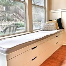 Bay Window Bench Plans Kitchen Ideas Seat Ikea