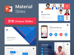 Powerpoint Theme Templates Free Material Design Powerpoint Template Magdalene Project Org