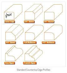 granite countertop edge profiles edge profiles granite countertop laminate edge profiles granite countertop edge profiles