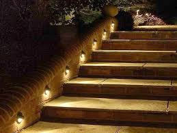 outdoor deck lighting ideas. Ordinary Outdoor Lighting Stairs , Enlighten Your Outing Space With Deck Ideas :