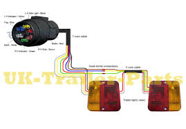 7 pin 'n' type trailer plug wiring diagram uk trailer parts trailer lights wiring diagram 7 pin n type wiring diagram