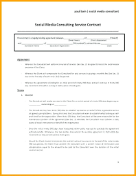 Simple Service Contract Essay T Template Paper Outline Sample 7