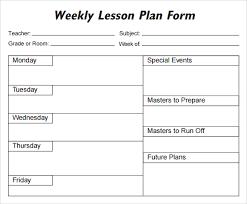 sample lesson plan outline lesson plan template 1 organization pinterest lesson plan