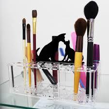 ... Ikee Design Premium Acrylic Makeup Brush Holder Office Organizer with  Animal Sign ...