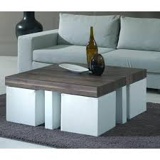 round coffee table with chairs underneath for captivating coffee table with stools underneath dealrco