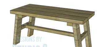 how to build rustic furniture. Plain Furniture Free Furniture Plans To Build A Rustic Bench And How To