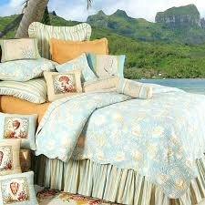 beach house quilts c f natural s tropical bedding