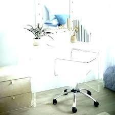clear office chairs. Plain Clear Acrylic Swivel Chair Clear Desk  Inside Clear Office Chairs