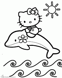 10 Kleurplaten Hello Kitty Uitprinten Krijg Duizenden