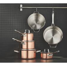 Copper Core Stainless Steel Cookset 12 Pc Paderno