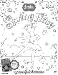 Small Picture ballerina coloring pages