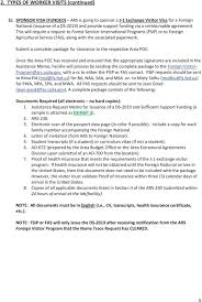 Fsip Designation Ars Foreign Visitor Program Area Guidance And Instructions