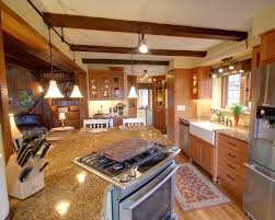 lighting kitchen sink kitchen traditional. lighting kitchen rustic with apron sink breakfast bar image by rta studio traditional