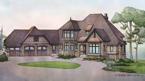3 Bedroom French Country Home Plan HOMEPW76583