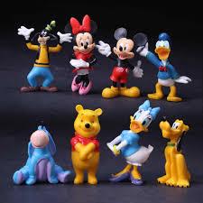 8 Cái/bộ Đồ Chơi Mickey Minnie Mouse Vịt Donald Sao Diêm Vương Goofy Nhựa  PVC Đồ Chơi Mô Hình Cho Bé Đồ Chơi Quà Tặng Giáng Sinh|Mô Hình Đồ Chơi &  Hành