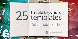 make tri fold brochure 25 editable illustrator tri fold brochure templates bypeople