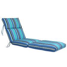 Sunbrella Channeled Chaise Lounge Cushion | Hayneedle
