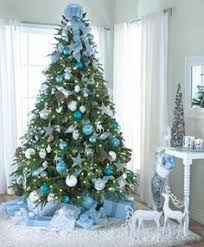 christmas trees decorated in blue. Exellent Blue Modern Color Combinations And Ornaments For Christmas Tree Decorating In  Style For Trees Decorated In Blue