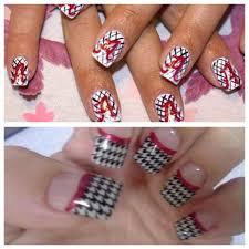 Alabama Nail Art Designs Bama Nails In 2019 Alabama Nails Nails Easy Nail Art