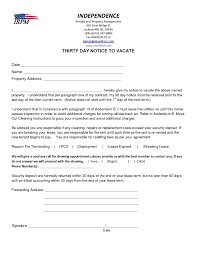 Notice To Vacate Letter Template Letter To Leave Property Best Notice Vacate Apartment Fresh