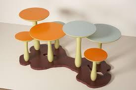 mushroom coffee table by thomas wold