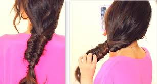 Hairstyles For School Step By Step Stitch Fishtail Braid Tutorial Cute Everyday Hairstyles For
