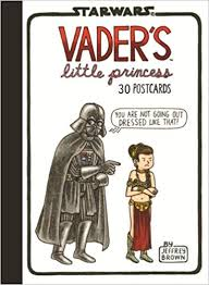 vader s little princess 30 postcards jeffrey brown 9781452135441 amazon books