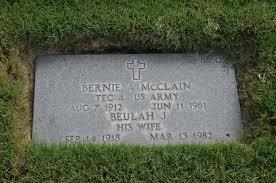 Bernie A McClain (1912-1981) - Find A Grave Memorial