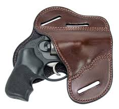 home outside the waistband holsters owb the ultimate leather holster brown 3 slot pancake style belt holster fits j frame revolver style