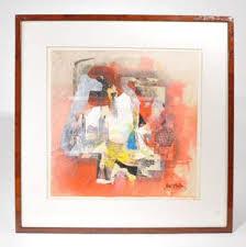 RAUL Z. GARRISON (20TH C.) WATERCOLOR 'EL ESPEJO' - Nov 16, 2019 | Austin  Auction Gallery in TX