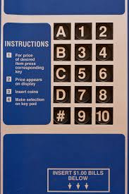 Vending Machine Instructions Gorgeous Vending Machine Keypad I Found It Interesting Not Sure Wh Flickr