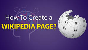 Wikipedia Create How To Create A Wikipedia Page Be Intellect