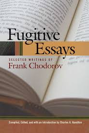fugitive essays liberty fund chodorov 9780913966730 800h 72