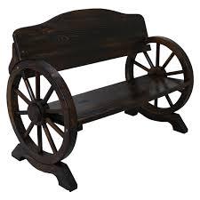 garden seat on wheels. Cart Wheel Bench Garden Seat On Wheels