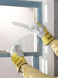 step 1 remove glass shards