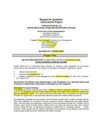 with material construction agreement construction quotation templates 13 free word pdf format