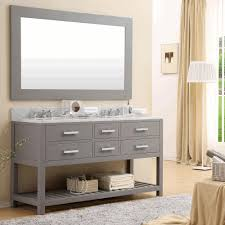 white console cabinet. Vanity Shelves Bathroom Built In Three Tier Wall Shelf Rectangular White Console Sink Mirror With Rustic Wooden Frame Cabinet