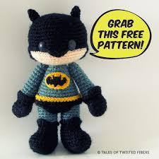 Batman Crochet Pattern