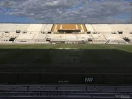 Spectrum Stadium Seating Chart Ucf Spectrum Stadium Section 110 Rateyourseats Com