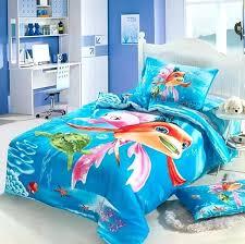 ocean bedspread ocean kids girls cartoon bedding comforter set twin size bedspread bed in a bag ocean bedspread aqua blue queen bedspread set