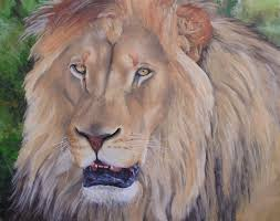 free art tutorial how to paint a lion in oil art lessons